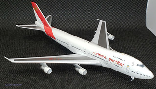 Air India B747-237B, VT-EBE made by Aviation 400 in 1.400 scale. | by dc10forlife