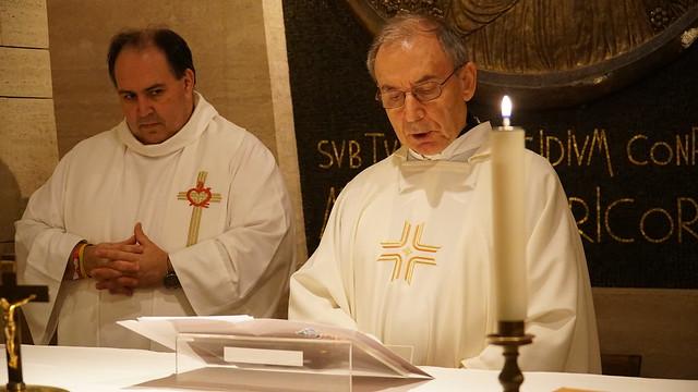 Celebración de la Recolección agustiniana en San Pedro del Vaticano