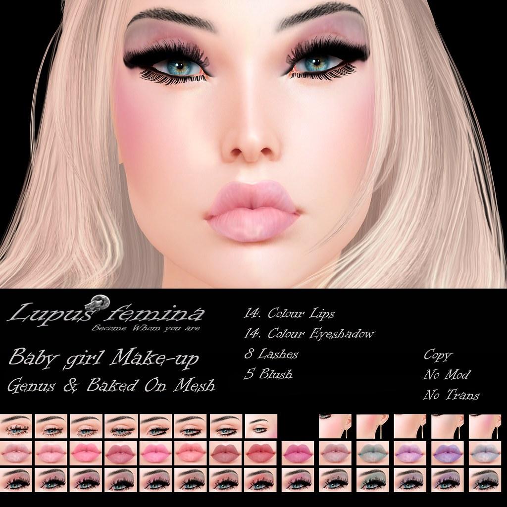 """Lupus Femina"" Baby Girl Makeup – Genus + BOM"