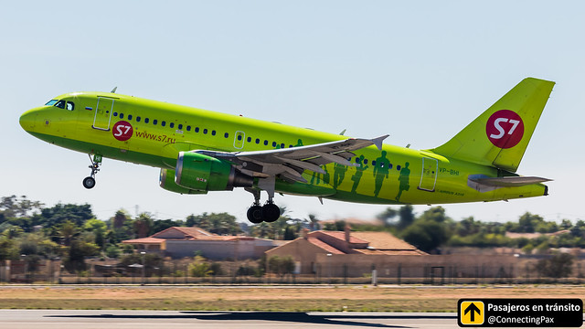 Airbus A319 S7 Airlines VP-BHI