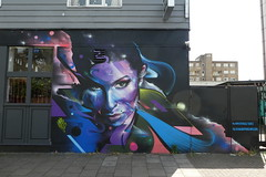 Mr Cenz graffiti, Camden