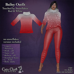 _CCD_ ad Bailey Outfit Touched  by Snowflakes Red & White 512