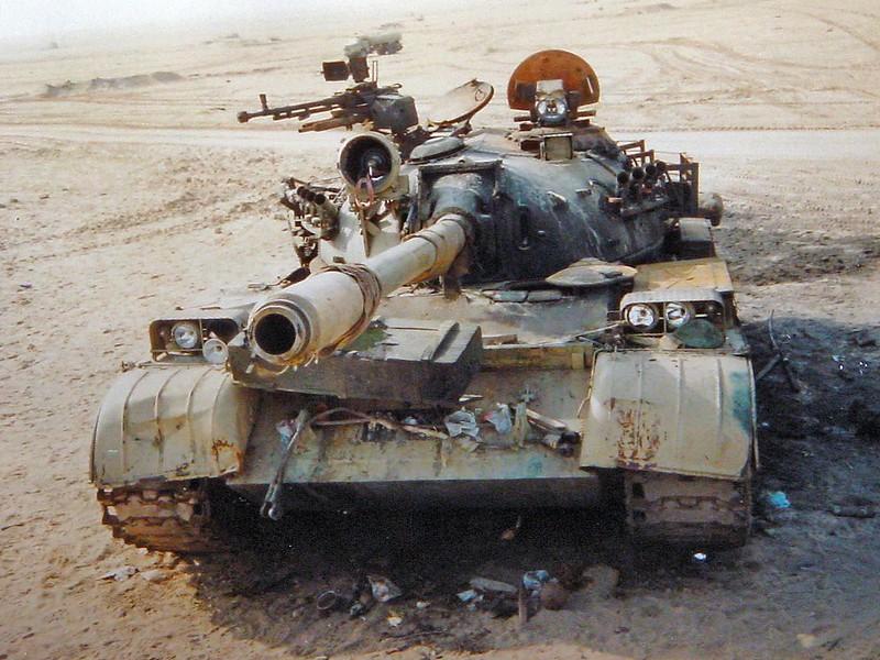 Iraqi T-69 3