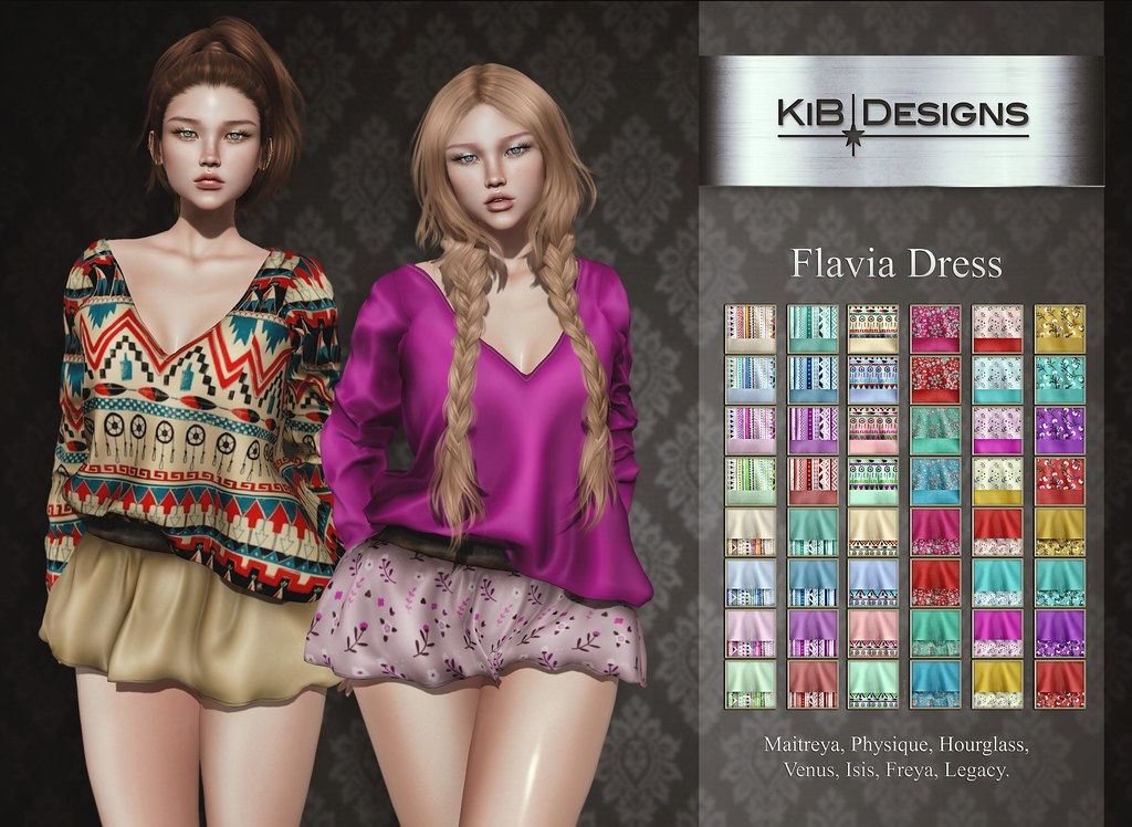 KiB Designs - Flavia Dress @AnyBody Event