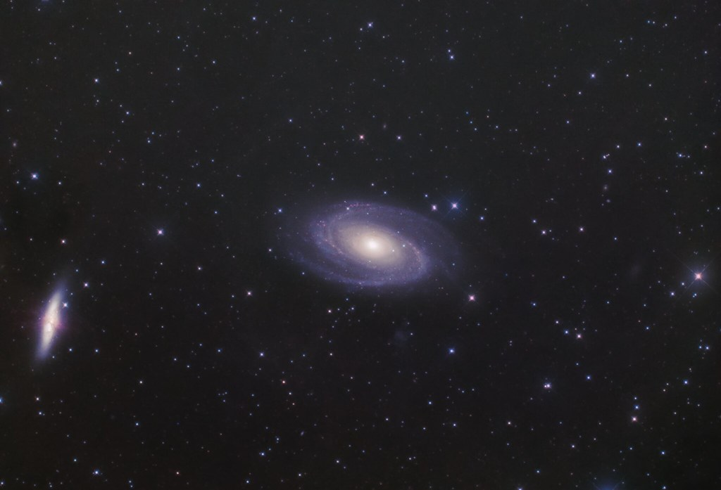 M81, The Bode's galaxy