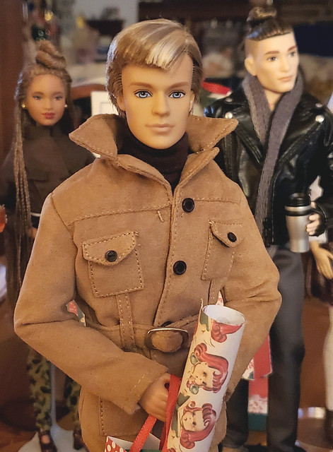 Blaine or New Look Ken.   I won this handsome fellow on Doll Divas, and he is quite wonderful.