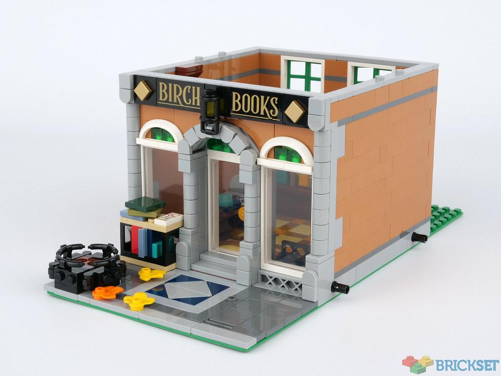LEGO Creator Expert Bookshop 10270 Modular Building Kit Collectors Toy New 2020