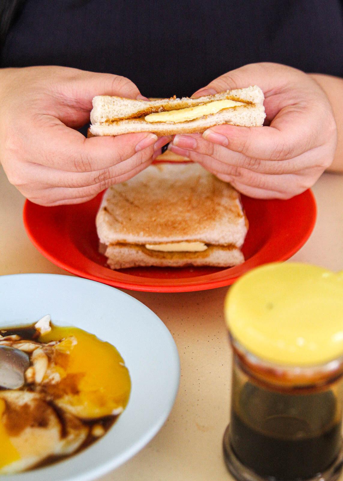 Sen Yen Kaya Toast