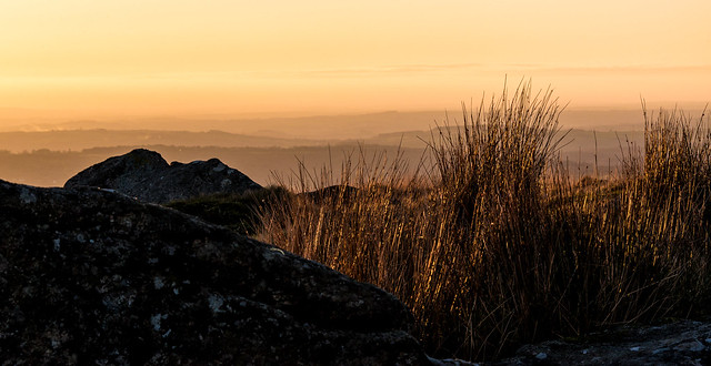 As the sun goes down over Dartmoor - NK2_8873