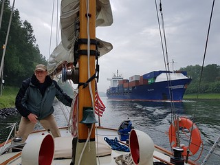 Close attention on the Kiel | by Sailing P & G
