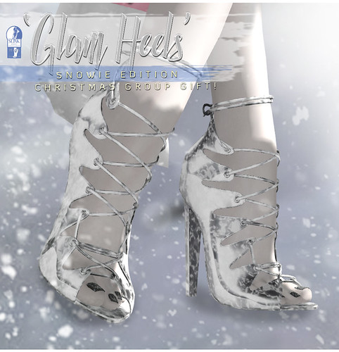 -Birth- 'Snowie Glam Heels' Christmas Group Gift