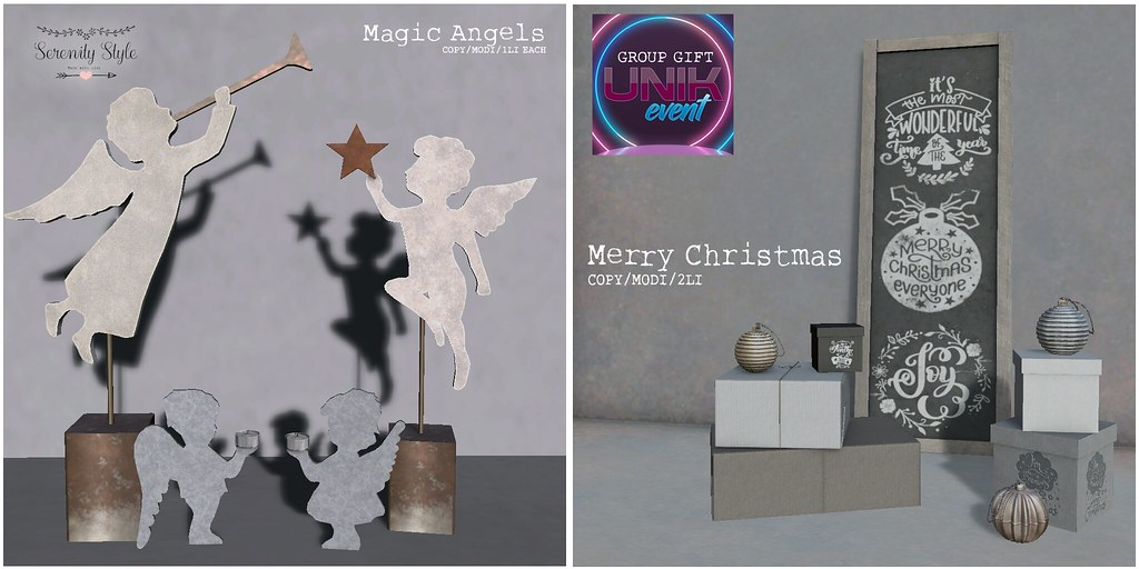 Serenity Style- Unik December Exclusive and group gift