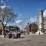 Meeting on the Flag Market, Preston