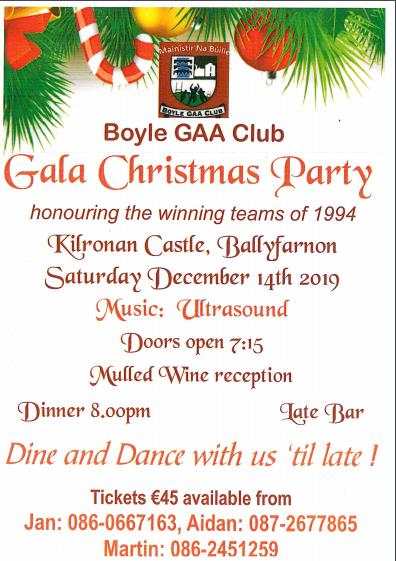 GAA Dinner Dance