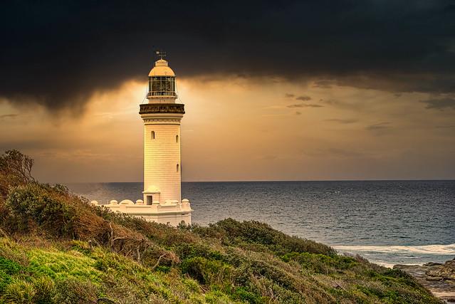 Storm Over Norah Head Lighthouse