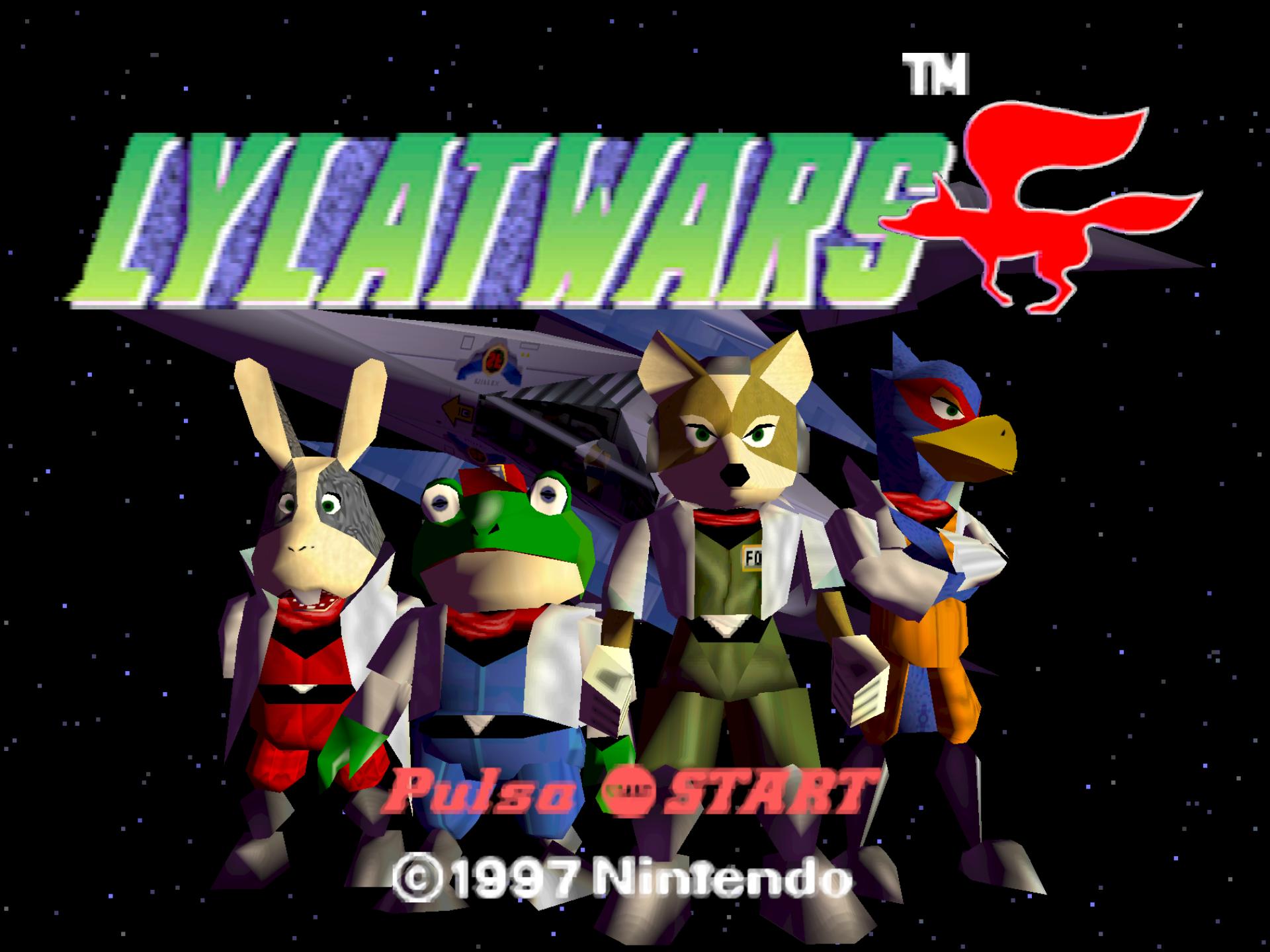 Star Fox 64 [N64] [Roms Nintendo en Español]-190923-192056