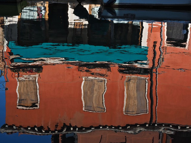 Reflections on a Venezian Canal