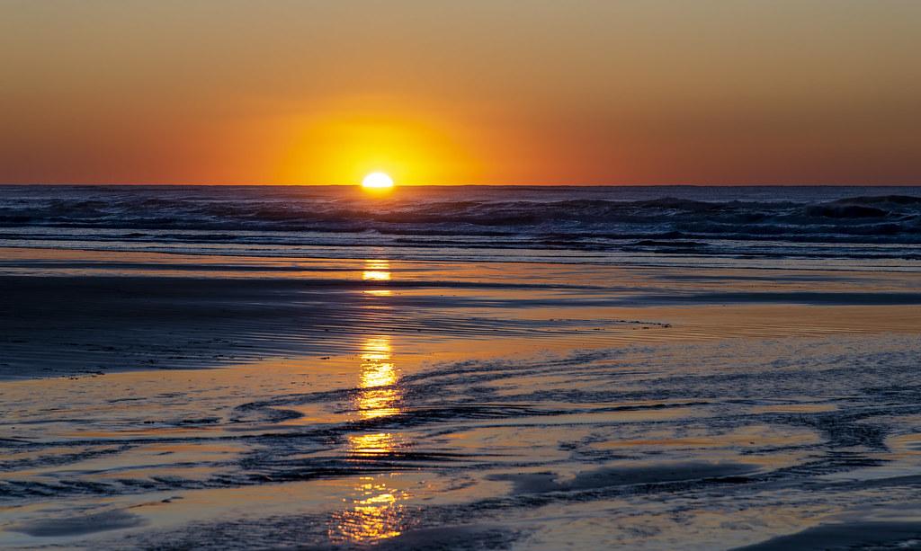 Nye Beach sunset