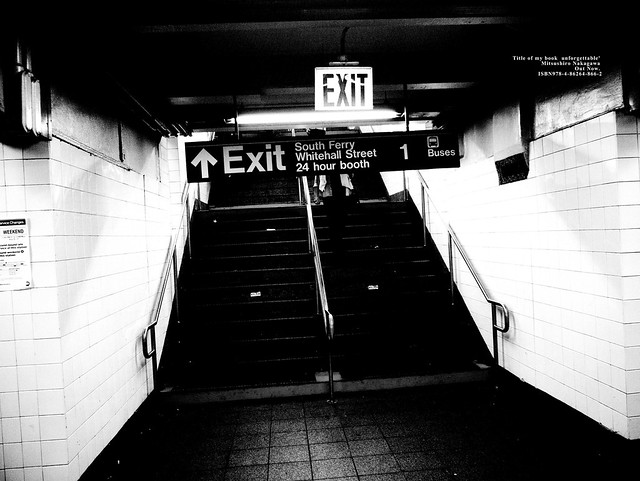 EXIT & EXIT. In cities, you need at least two exit signs.