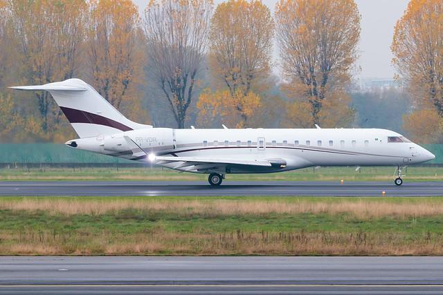 Private Bombardier Global 6000 PR-VDR   Milano - Linate (LIN-LIML)   16th November 2019