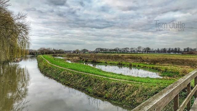 Fall weather, Kromme Rijn, Odijk, Netherlands - 0386