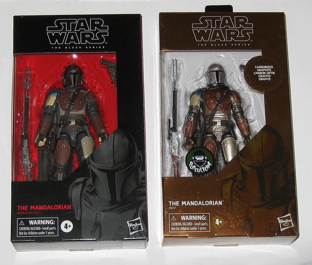 Normal Version Star Wars The Mandalorian Black Series Hasbro The Mandalorian