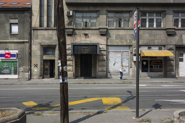 Teatro. Belgrade, août 2019.