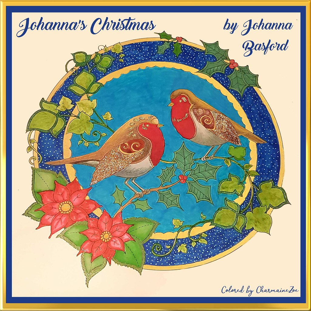 - Johanna's Christmas Coloring Book By Johanna Basford Flickr