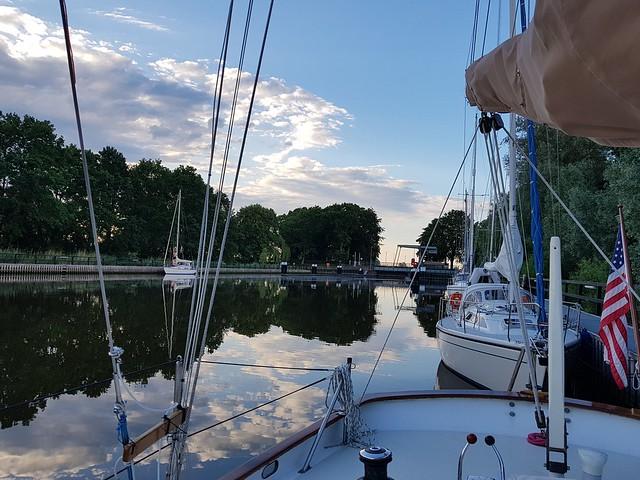 Gieselau-Kanal lock