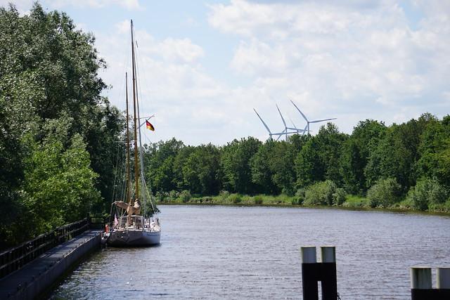 Gieselau-Kanal dock