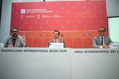 Inauguración del Encuentro Internacional de Caricatura e Historieta