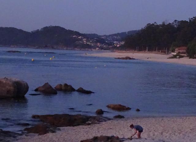 Última hora en la playa