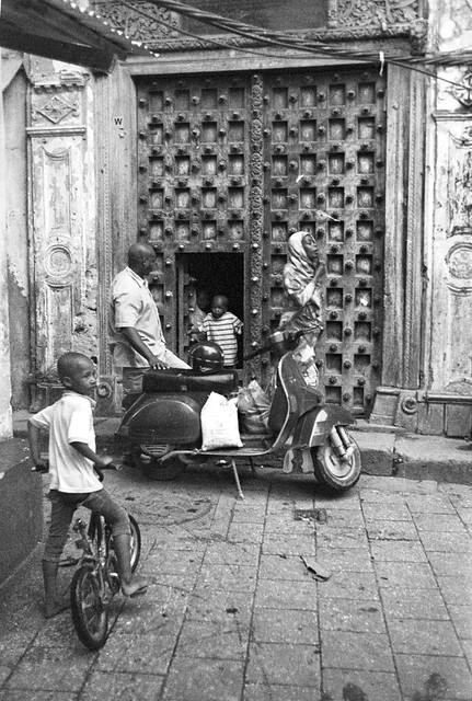The family. Zanzibar, summer 2019