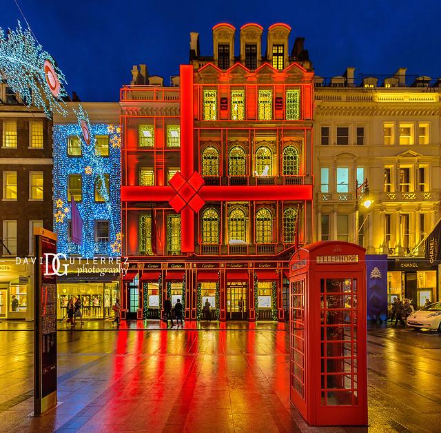 Cartier New Bond Street Boutique - London, UK