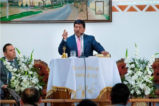 """""""Regocijaos en la mesa de Dios"""": Bendecida Cena del Señor en la iglesia de Talca Sur."""