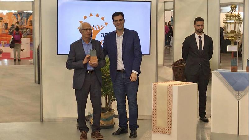 Homenaje  Manuel Perdomo  Feria  de Artesanía de Canarias