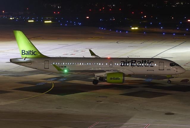 Air Baltic Airbus A220-300 YL-CSI