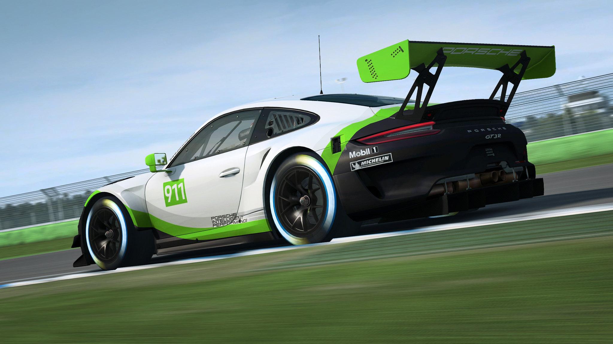 R3E Porsche 911 GT3 R 3