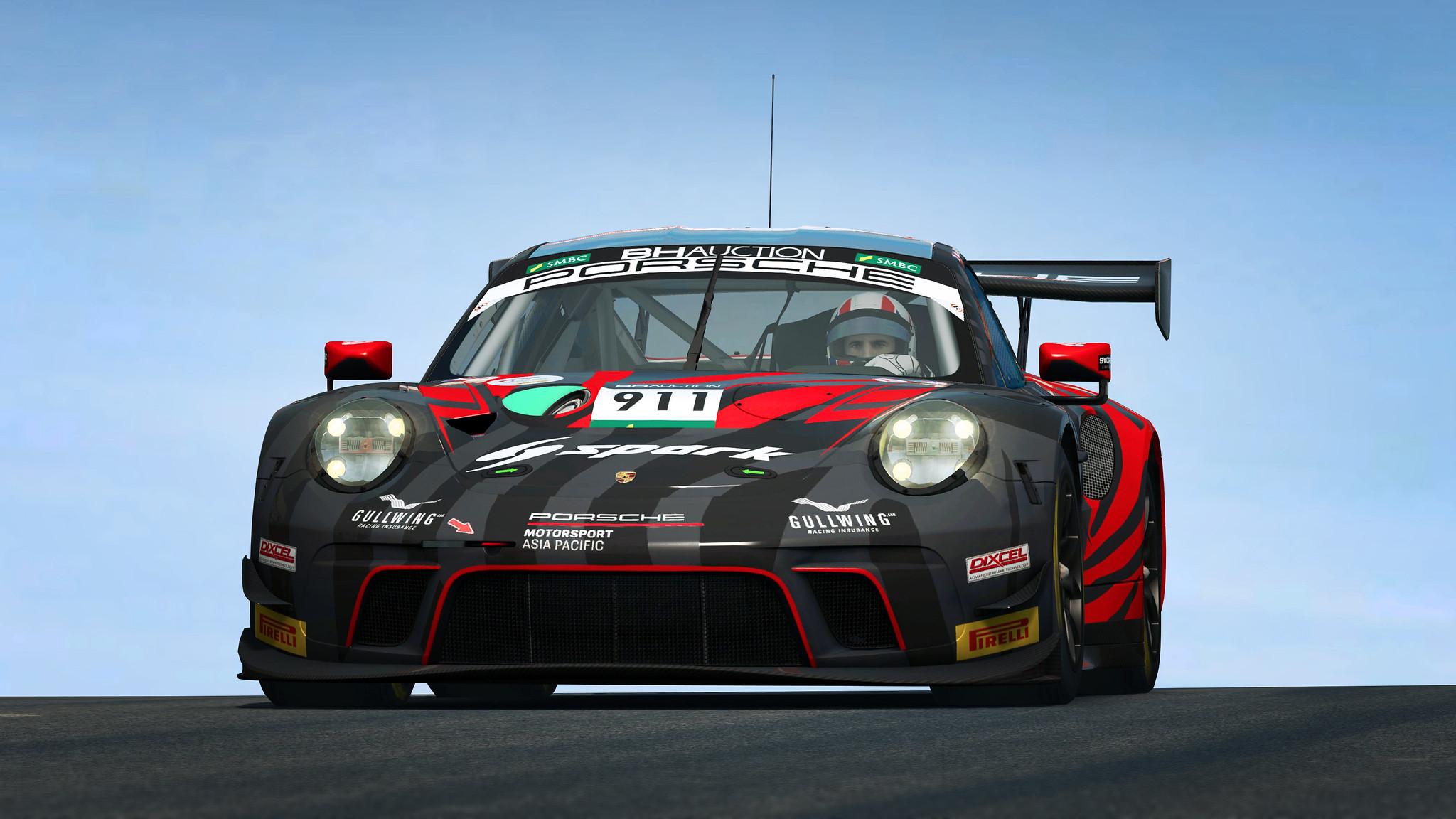 R3E Porsche 911 GT3 R 8