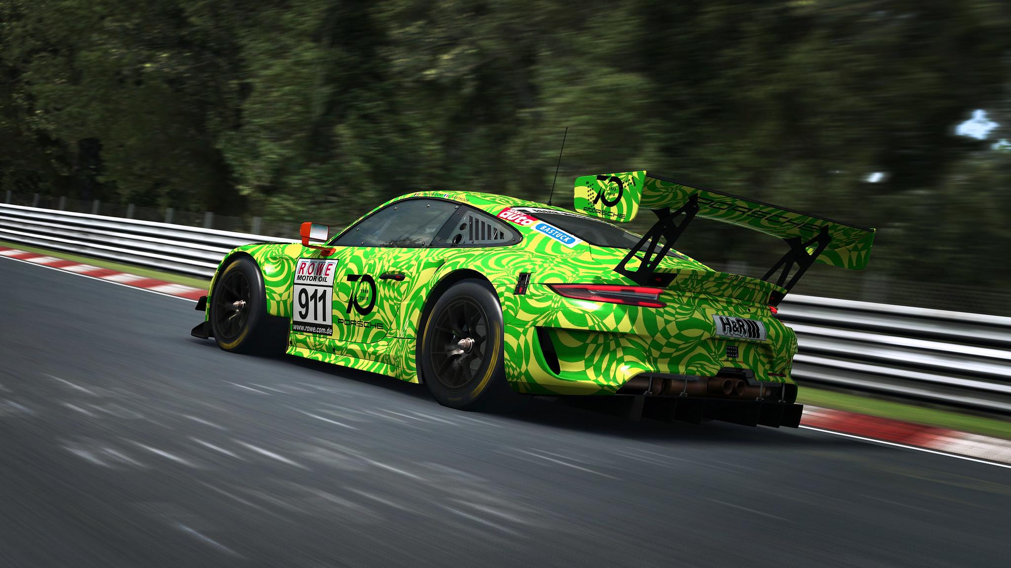 R3E Porsche 911 GT3 R 6