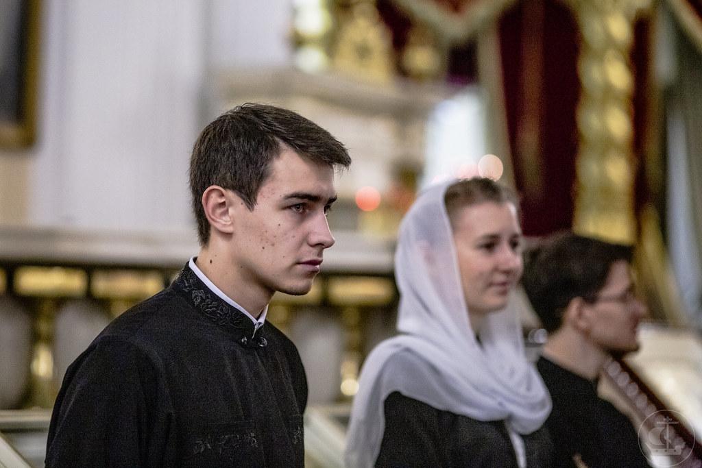 6 декабря 2019, День памяти преподобного Александра Невского / 6 December 2019, Remembrance day of saint Alexander Nevsky