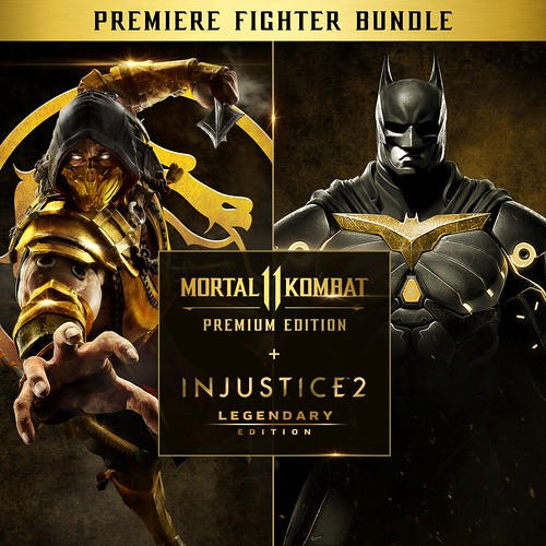Mortal Kombat 11 PE + Injustice 2 LE – Premier Fighter