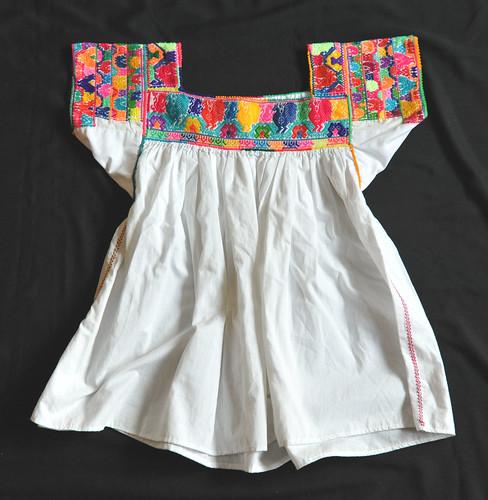 Mexican Blouse Otomi Puebla Textiles