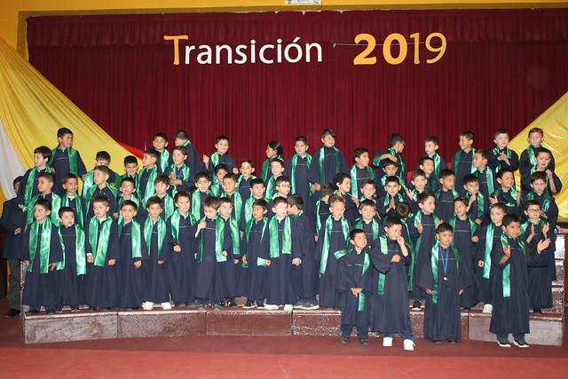 Ceremonia de Transición - Kinder a 1° Básico