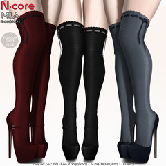 N-core MILA @ Saturday SALE (Individual colors 75 L$)