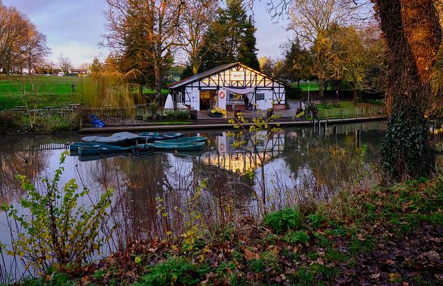 Boathouse at Sundown