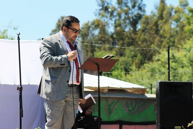 Plegaria por la paz en Hualqui