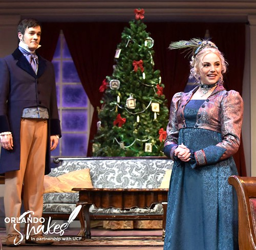 """Miss Bennet: Christmas at Pemberley"" (at Orlando Shakes)"