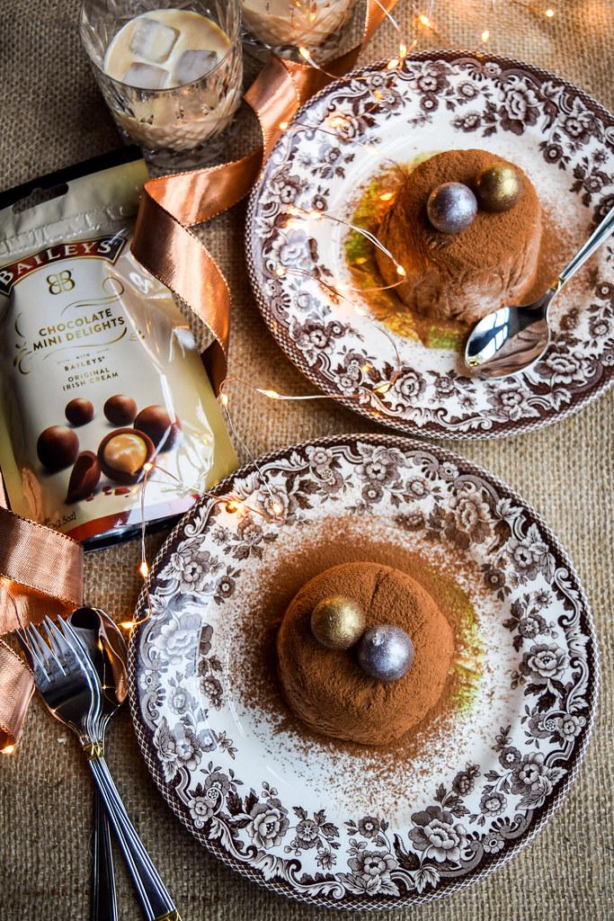 Baileys Chocolate Truffle Bombes