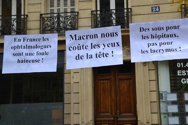 Macron nous coûte les yeux de la tête !